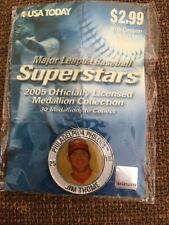 Philadelphia Phillies Jim Thom BASEBALL SUPERSTARS 2005  MEDALLION COLLECTION