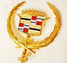 Cadillac 1980 1981 1982 1983 1984 1985 SEVILLE HOOD ORNAMENT GOLD PLATED!!