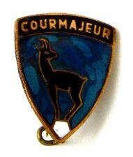 Spilla Courmayeur cm 1,5 x 1,8