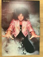 MARC BOLAN -Ultra-Rare Centrefold Poster from Jackie Magazine