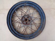 "1960's Harley Davidson Motorcycle 16"" WIRE SPOKE WHEEL Original 43006-62"