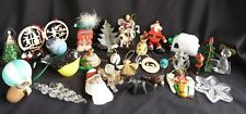 Mixed Lot of Vintage Christmas Ornaments Various colors & types