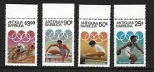 1984 Antigua/Barbuda Olympic Games SG825-828 Unmounted Mint