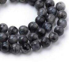 Natürliche Labradorite Perlen Edelsteine 4/6/8/10 mm Rund Schmucksteine Wählen