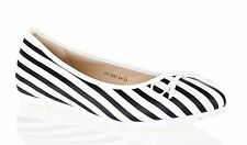 Unbranded Women's Striped Flats