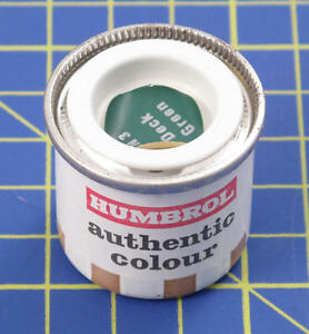 Humbrol HN3 Authentic Deck Vert 14ml Peinture Modélisme