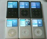Apple iPod classic 6th / 7th Generation Black / Silver - 160 GB / 120 GB / 80 GB