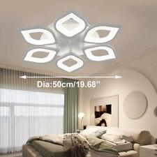 Modern Acrylic Flower Led 6 Head Ceiling Light Bedroom Chandelier Pendant Lamp