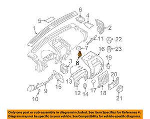 NISSAN OEM-Exterior Bulb 2626189900