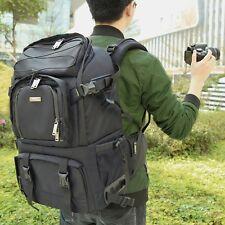 Large Pro DSLR Camera Backpack For Nikon D7200 D7100 D5300 D5200 D3300 D750 D810