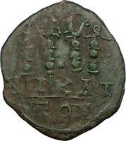 GORDIAN III 238AD Nicaea Ancient  Roman Coin  Four Legionary STANDARDS  i22683