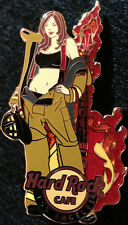 Hard Rock Cafe LOS ANGELES 2012 Sexy FIRE Girl PIN Firefighter Bikini HRC #68048