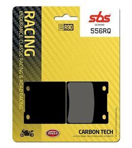 Kawasaki ZRX 1200 01 - 04 SBS Rear Carbon Tech Brake Pads Set EO Quality 556RQ