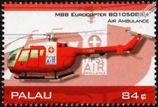 MBB Bo-105 / Bo105 First Air Ambulance (Cornwall) Helicopter Aircraft Stamp