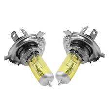 2x H4 55W 5000K Car Xenon Gas Halogen Headlight Headlamp Lamp Bulbs Yellow Sale