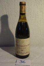 C36 Bouteille de vin de collection Chateauneuf Du Pape 1986 N°2