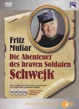DIE ABENTEUER DES BRAVEN SOLDATEN SCHWEJK - 4 DVD - FRITZ MULIAR