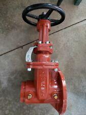 "4"" OS&Y Water  valve flange/groove"