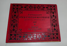 Joh. Sibmacher´s Stick- u. Spitzen-Musterbuch 35 Tafeln der Ausgabe v. 1597