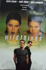 Wild Things Original 1998 Double Sided Movie Poster Campbell, Richards,Dillon