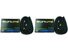 SunLite 48mm Schrader Valve 700x35-43c Bicycle Tube-Hybrid/Commuter-2 Tubes