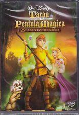 Dvd Disney **TARON E LA PENTOLA MAGICA** nuovo 1986