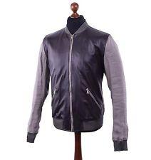 Dolce&Gabbana Leather Basic Jackets for Men