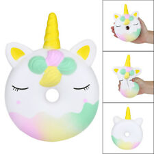 16cm Squishies Unicorn Doughnut Slow Rising Squeeze Scented Stress Reliever Toy