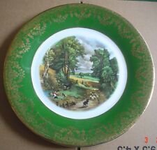 Kenyon English China Collectors Wall Plate The Cornfield