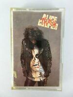Vintage Alice Cooper Trash 1989 Cassette Tape Hard Rock Heavy Metal