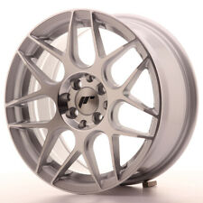 Japan Racing JR18 Alloy Wheel 16x7 - 4x114.3 / 4x100 - ET35 - Silver Machined