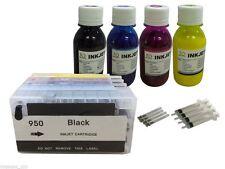 4 Pigment ink refillable Cartridge for HP 950 951 XL Pro 251dw  276dw  +4x100ml