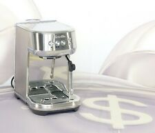 Breville the Bambino Plus Espresso Machine 2-Cup Filter BES500BSS1BUS1 New #7143