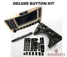 2002-06 Maserati Cambiocorsa Coupe Spyder Deluxe Button Restoration Kit (Fits: Maserati)