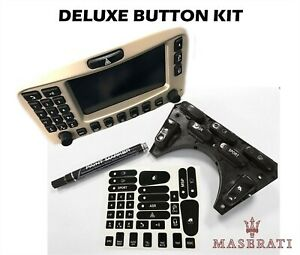 2002-06 MASERATI CAMBIOCORSA COUPE SPYDER DELUXE BUTTON RESTORATION KIT