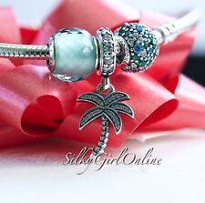 Pandora Christmas Gift Set Sparkling Palm Tree Bead 791540CZ,791261MCZM,791499SG