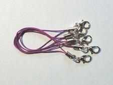 5 Bänder/Band - violett - für Anhänger: Charm/Handy/USB-Stick/etc. *neu*