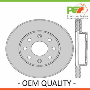 2x New *PROTEX* Disk Brake Rotors - Front For HOLDEN BARINA TK 4D Sdn FWD.