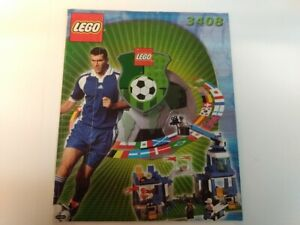 LEGO 3408 Super Sports Coverage Instruction Manual ONLY 2000 Vintage RARE