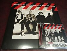 U2 How to Dismantle an Atomic Bomb JAPAN OBI LIMITED EDITION 2004 ISSUE + VINYL