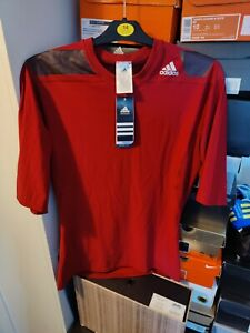 Adidas Techfit Cool Power Short Sleeved UK XL