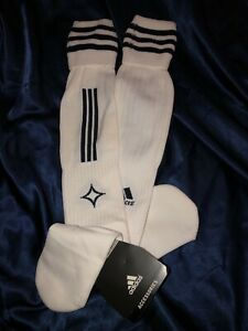 ⚽️ Adidas Lg MLS LA Galaxy Player Issue Formotion Extreme Cushion Soccer Socks