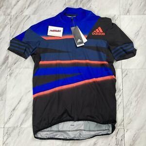 Adidas Adistar Cycling Men's Size XL Form Fitting Jersey Blue FJ6572