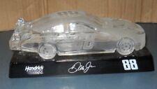 DALE EARNHARDT JR #88 CRYSTAL FROSTED GLASS NASCAR CAR MOUNTAIN DEW HENDRICK