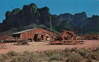 Postcard Mining Camp Restaurant Phoenix Arizona