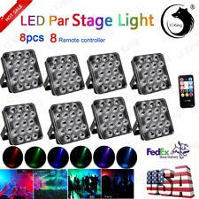 17Led Par Stage Lighting Square Light Rgb Party Disco Dj Projector Lights Show