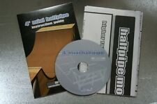 4' HALF PIPE BLUEPRINT PLANS & DVD Build your own halfpipe SKATEBOARD RAMP