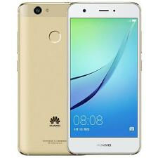 "Huawei Nova White Gold Dual SIM 64GB 5"" 4GB RAM 12MP Android Phone By FedEx"