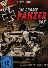 DVD/ Die grosse Panzer Box - 6 DVDs über 300min. Laufzeit  !! NEU&OVP !!