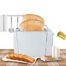 EU Plug 220V 750W Electric Home 2 Slice Bread Toast Toaster Maker Machine New